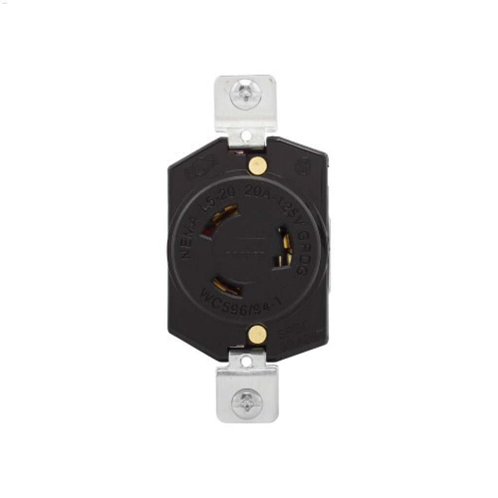 Kent.ca | Cooper Wiring Devices - Locking Receptacle 20A 125V 2P/3W ...