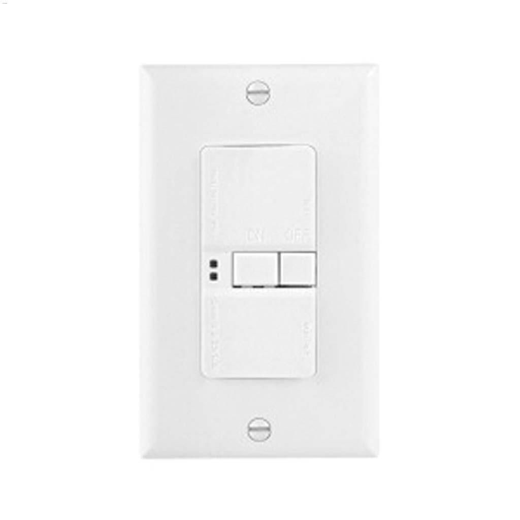 Cooper Wiring Devices Blank Face Gfci 20a 125v 2p 3w A Light Switch From