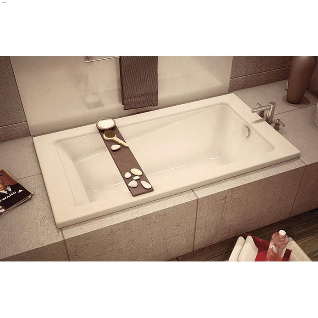 Kent.ca | Maax Bath - New Town 6032 White End Rectangular Bath Tub ...