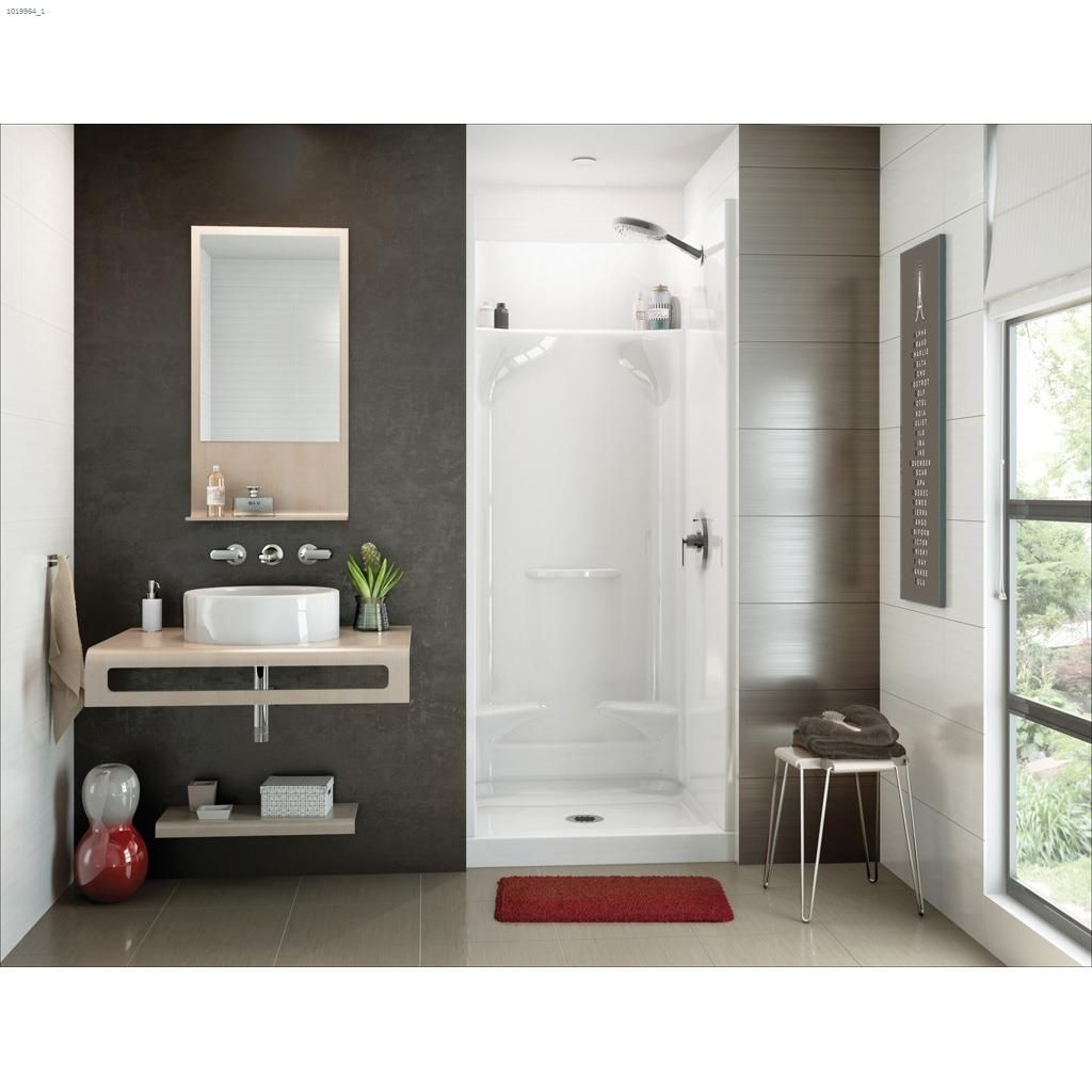 Kent.ca | Maax Bath - Essence SH-3232 White Fiberglass 4-Piece ...
