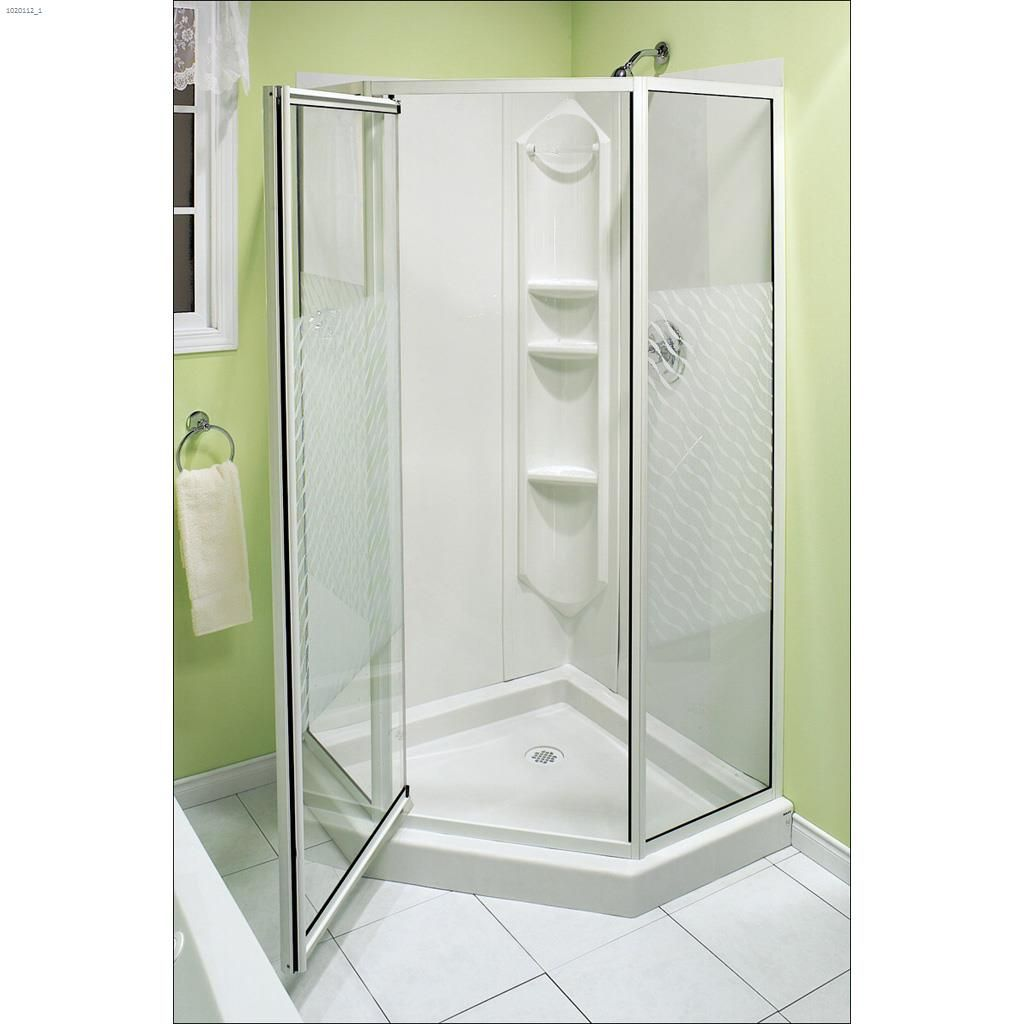 Kent.ca | Maax Bath - Himalaya White 3-Piece Shower | Kent Building ...