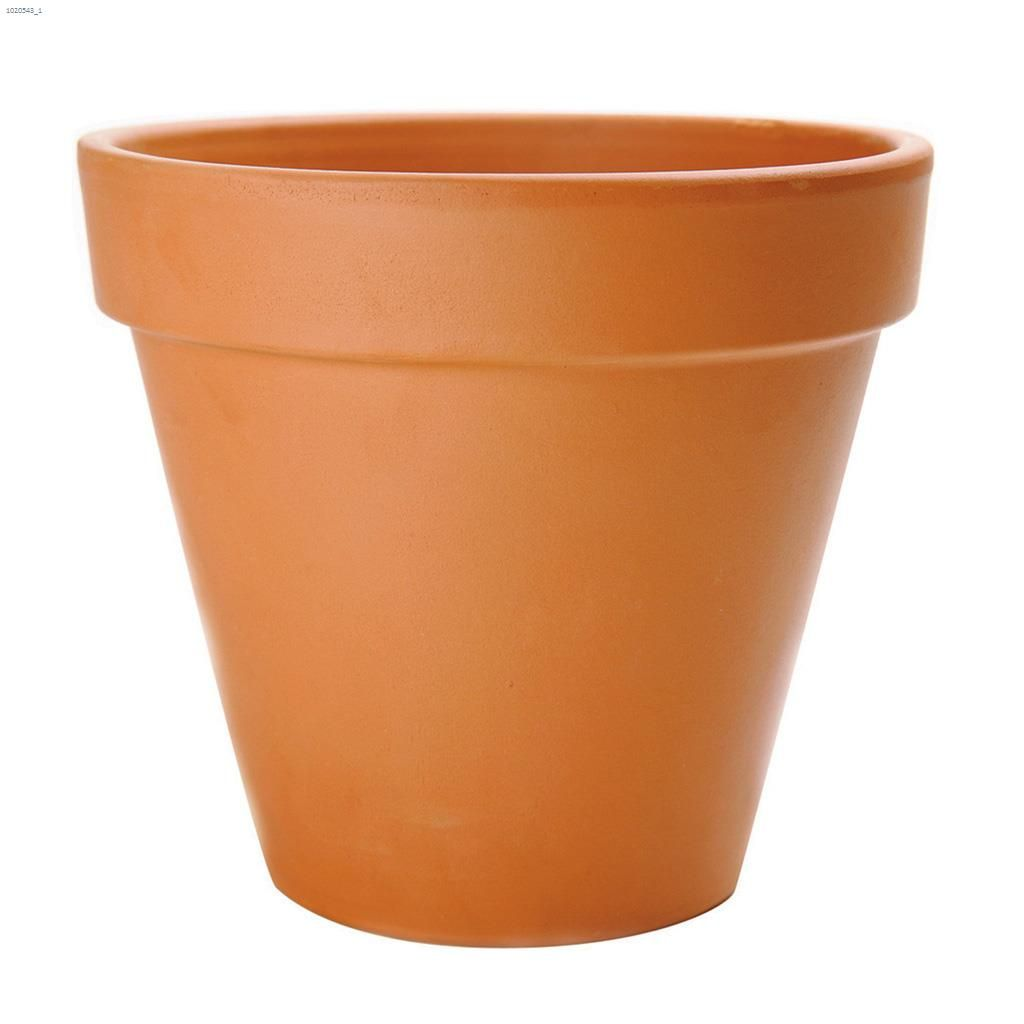 How to update a clay flower pot 53