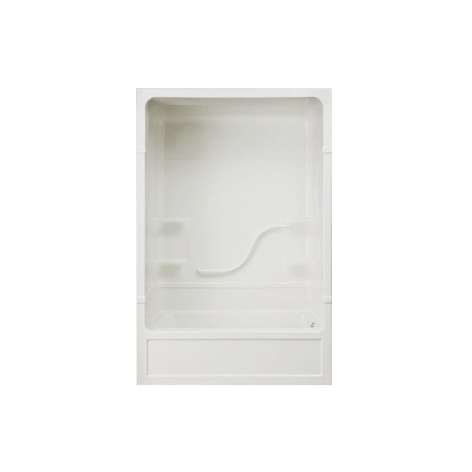 Kent Mirolin Industries Parker 16 White 3 Piece Right Hand
