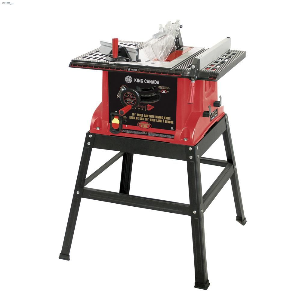 Kent king canada 10 table saw with stand kent building auto 10 king canada keyboard keysfo Gallery
