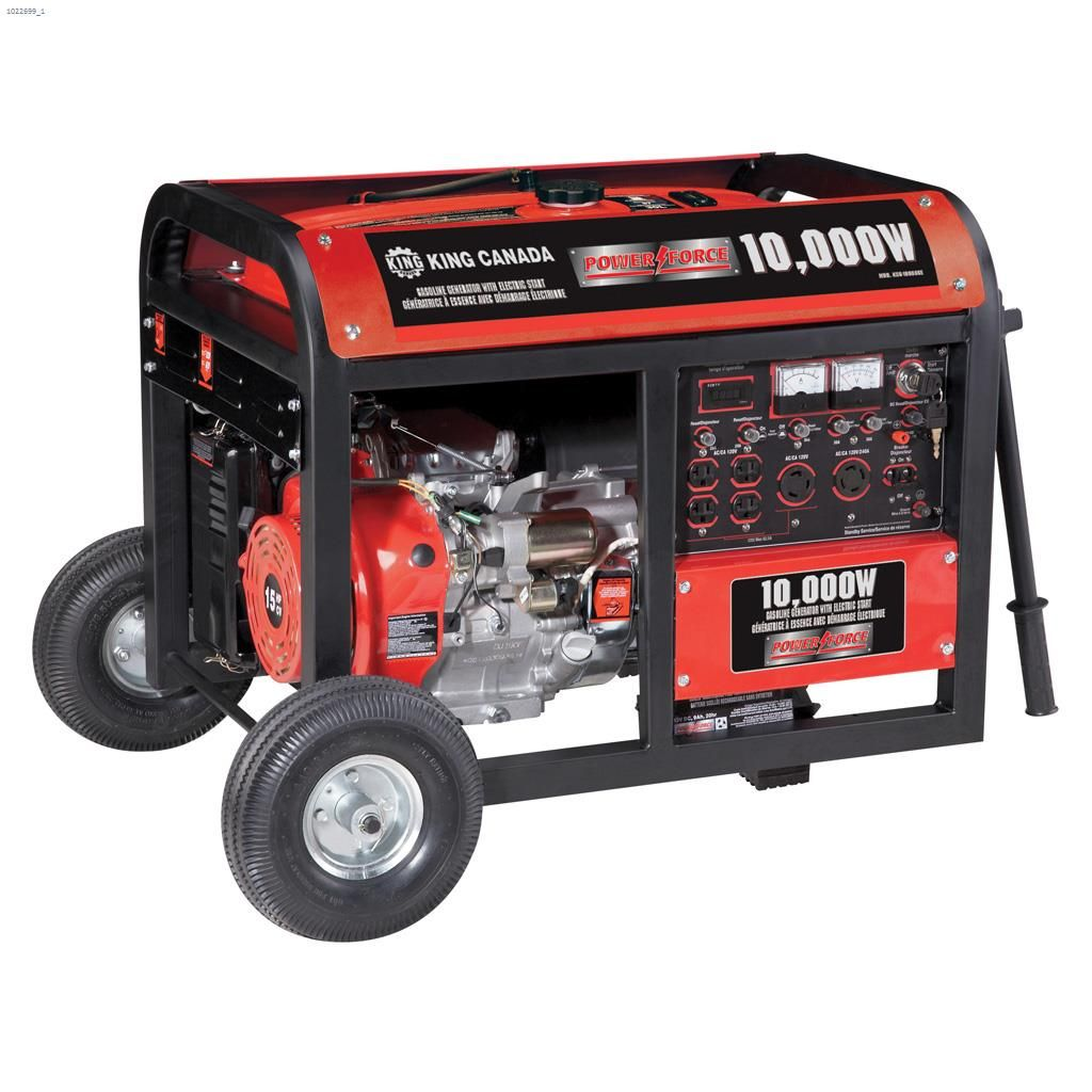 Kent Ca King Canada 10000 Watt Electric Start Gasoline
