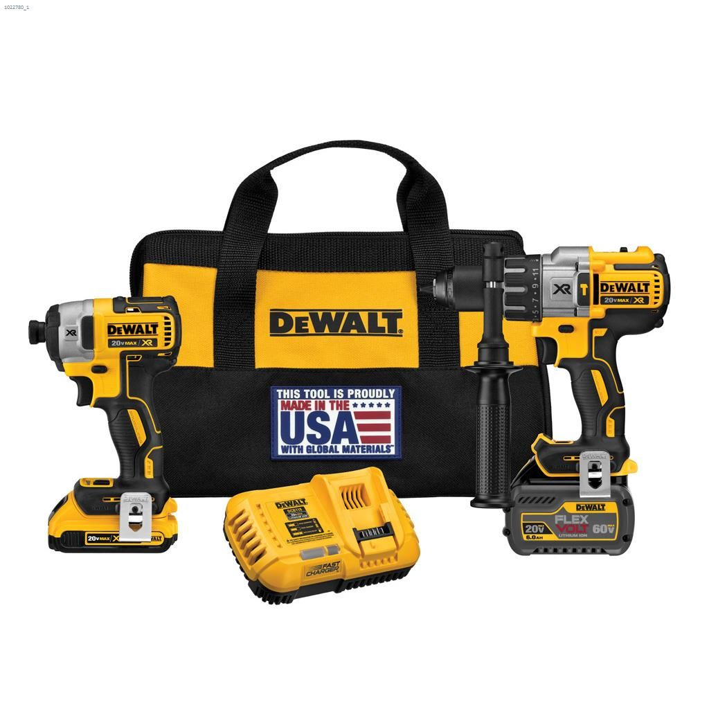6ea3dc39d8a Flexvolt u2122 20V 2-Tool Combo Kit With 2 Batteries