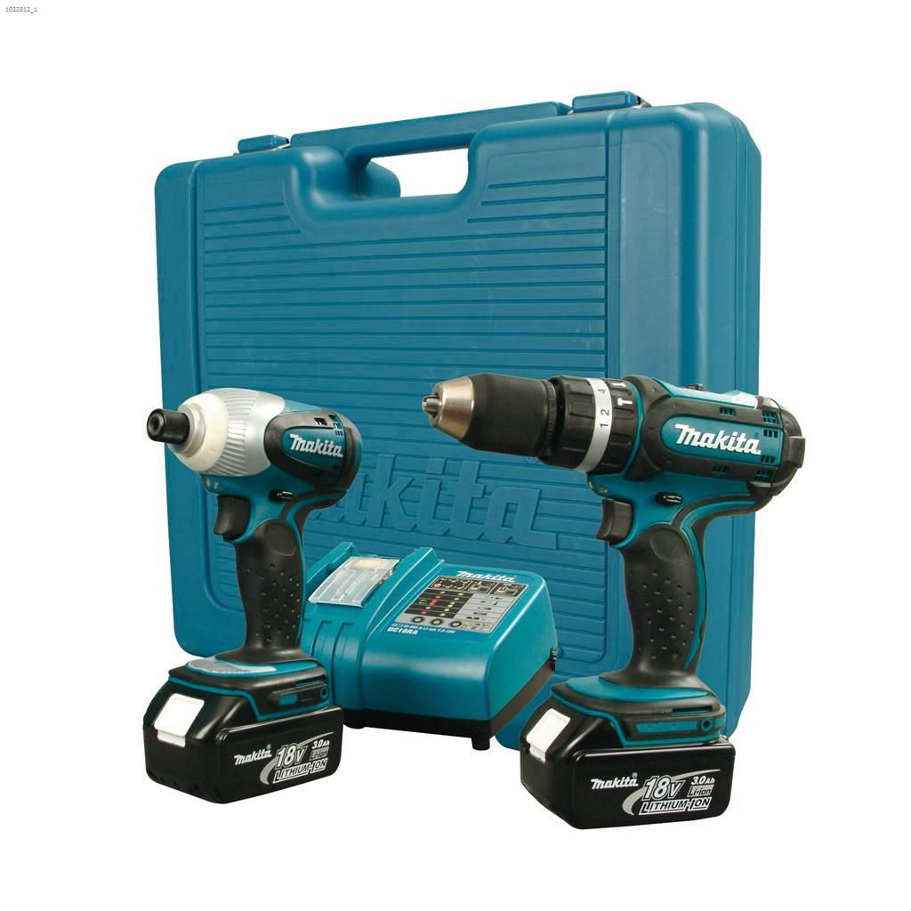 18V 2-Tool Combo Kit With 2 3 A/hr Batteries