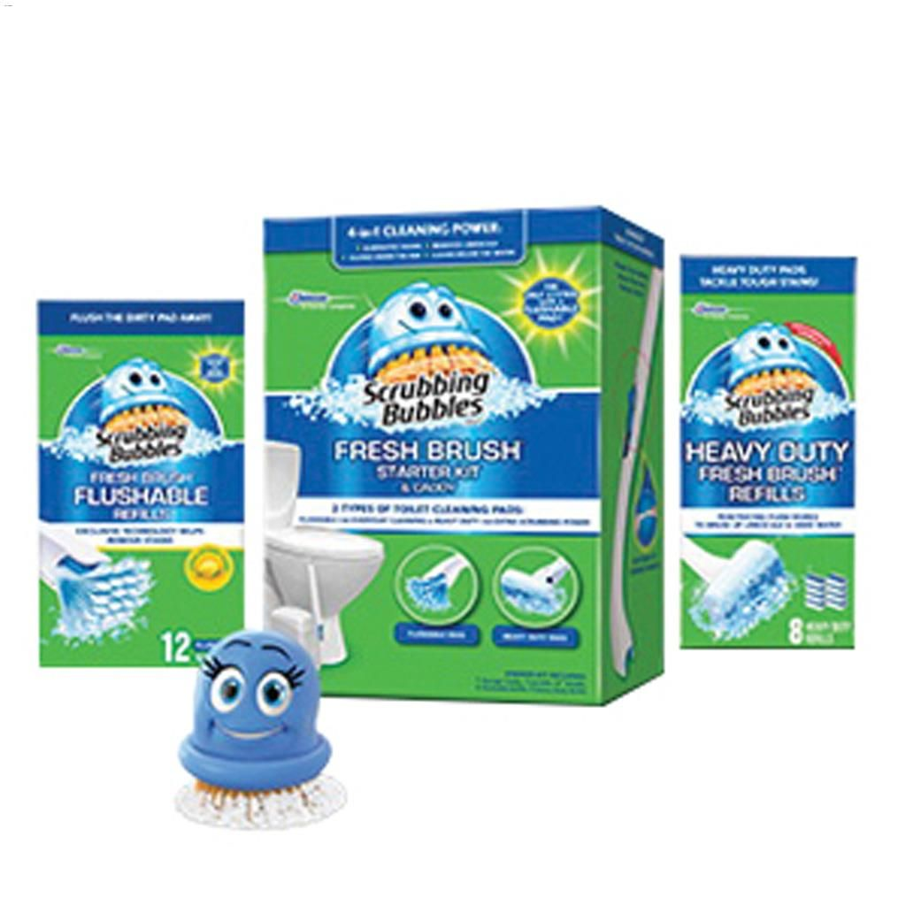 Kent.ca | SC Johnson - Scrubbing Bubbles® Fresh Brush® Starter Kit ...