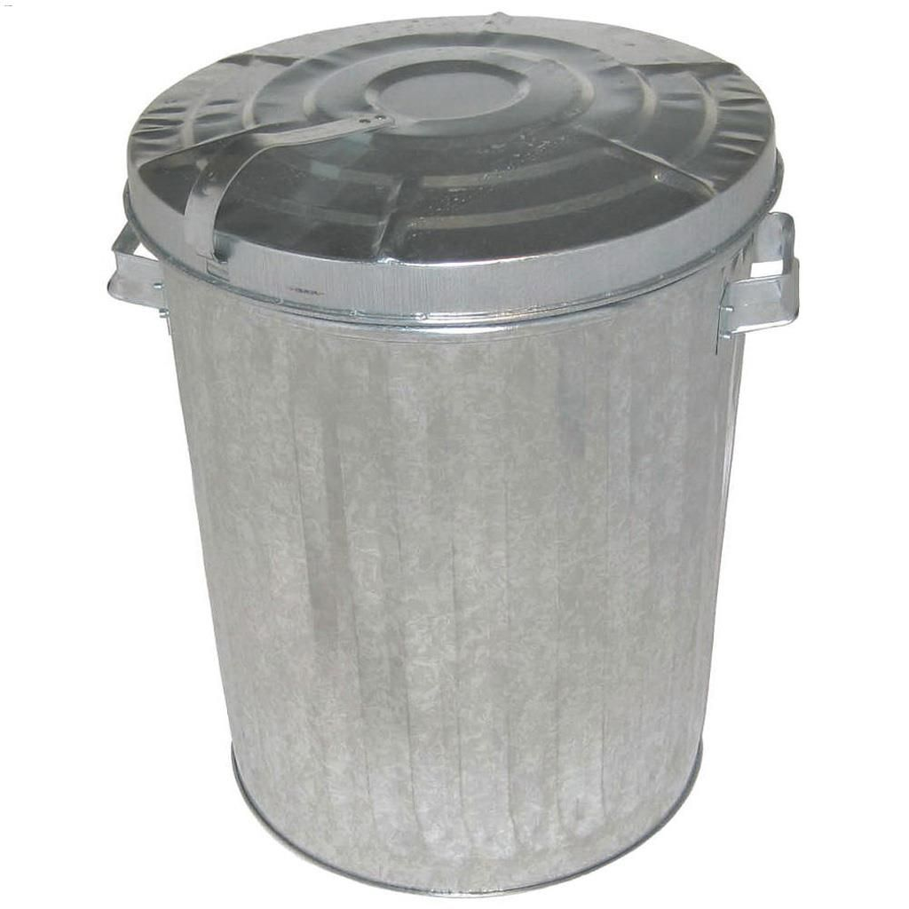 Kentca Great West Metal 757 L Garbage Can With Lid Kent