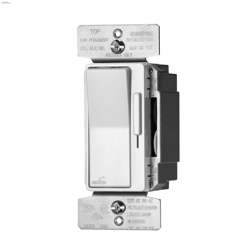 Kent.ca | Cooper Wiring Devices - Light Almond/White/Ivory Dimmer ...