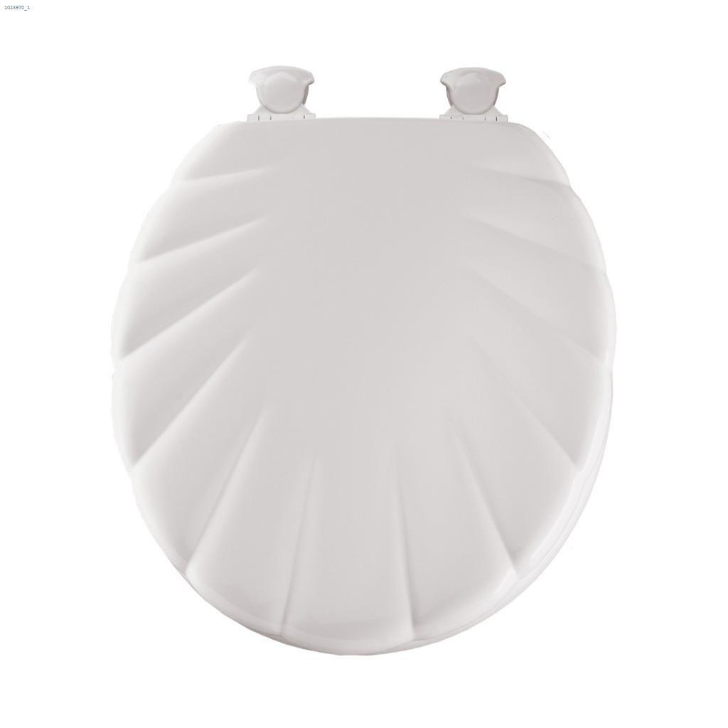 Kent Ca Bemis Round Molded Wood White Shell Toilet