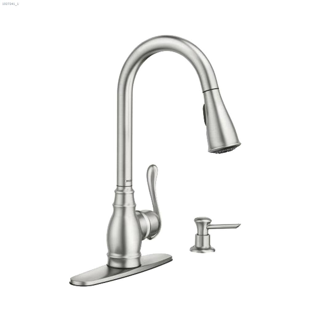 Anabelle high arc pulldown kitchen faucet