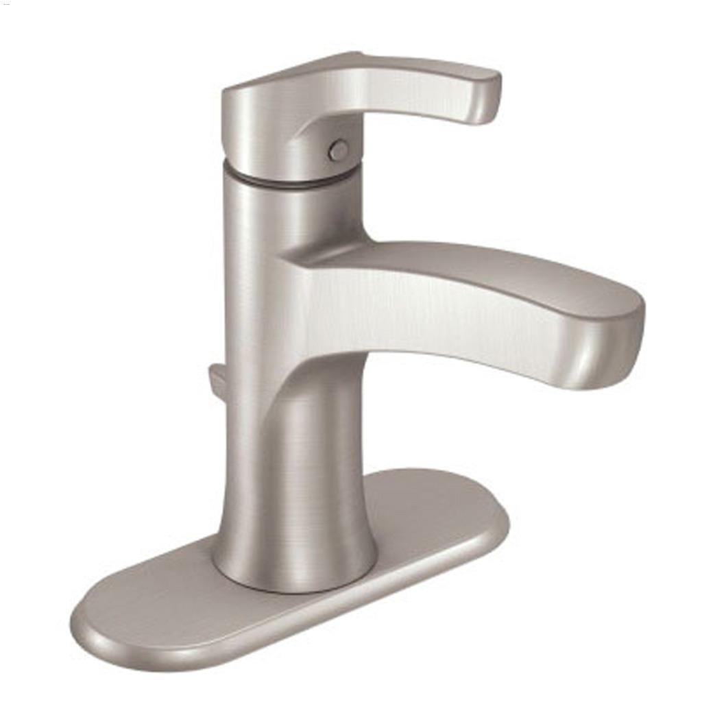 Kent.ca | Moen - Spot Resist Lever Danika™ High Arc Bathroom Faucet ...
