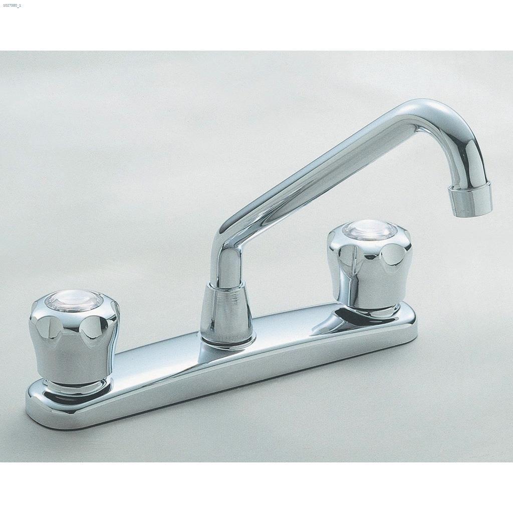 Kent.ca | Delta Faucet - 2-Handle Chrome Waltec® Deck Faucet | Kent ...