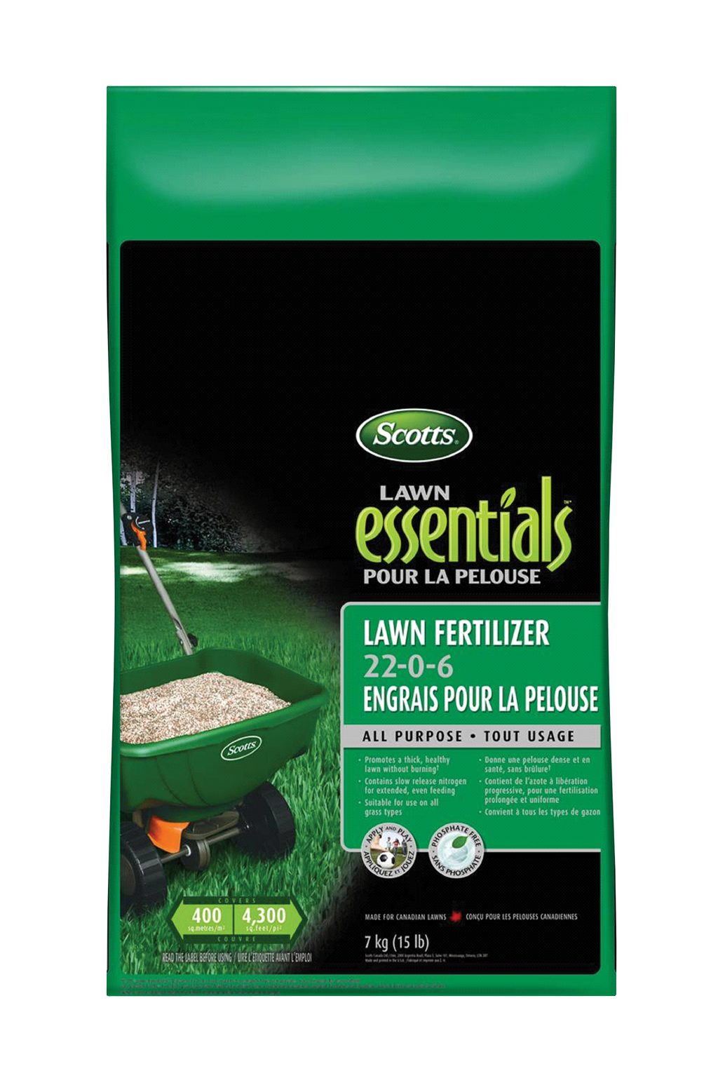 Kent Ca Scotts Lawn Essentials Fertilizer 7 Kg Kent