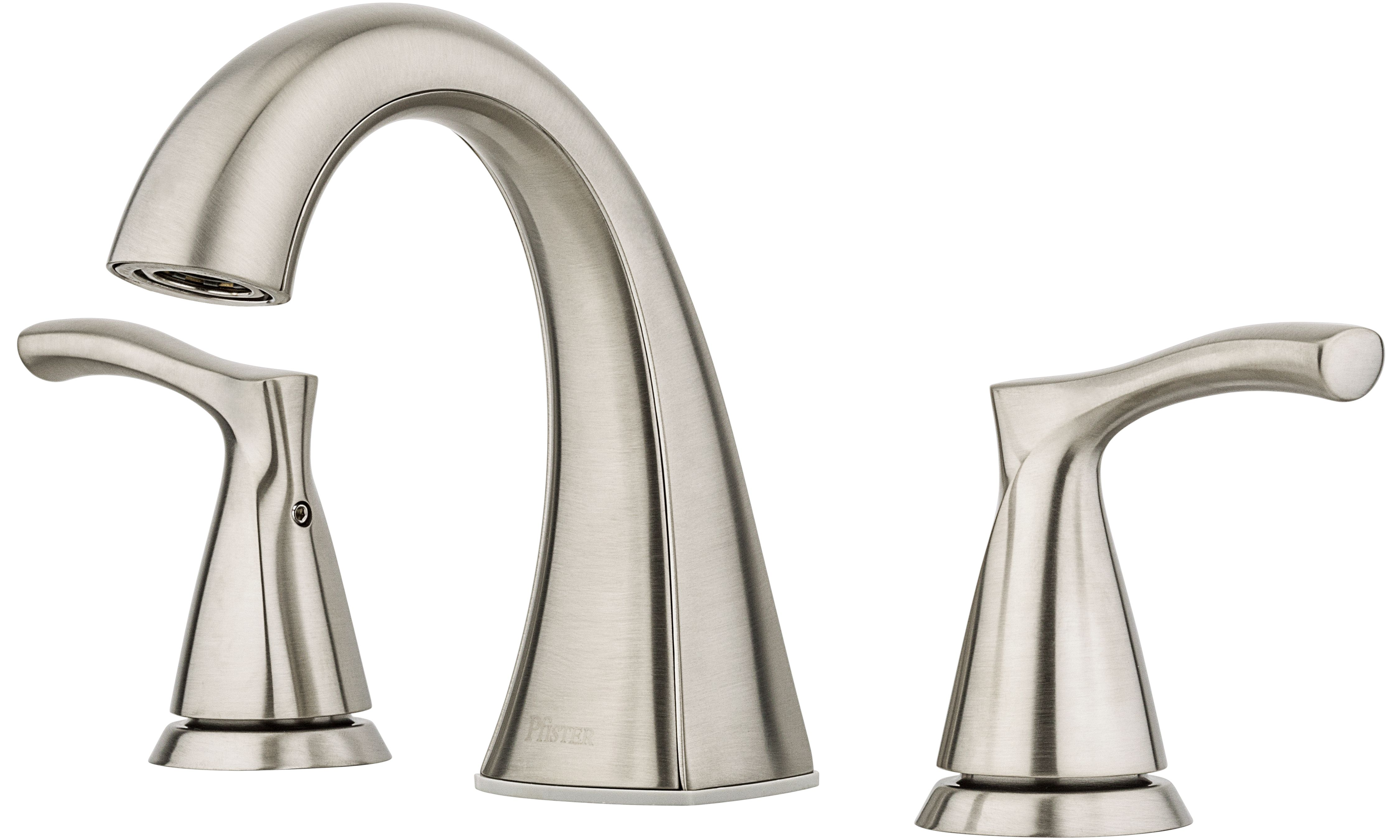 Masey 8 Centre Lavatory Brushed Nickel Faucet