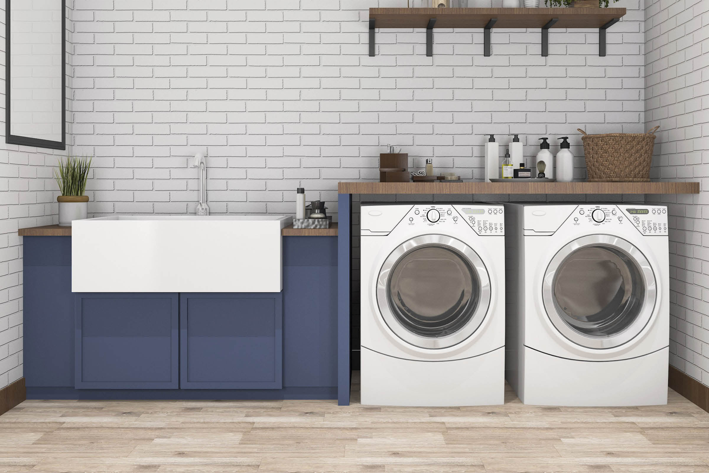 DIY on a Budget: Laundry Room Makeover