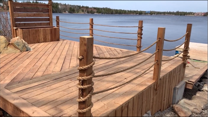 How to Build a Decorative Rope Railing