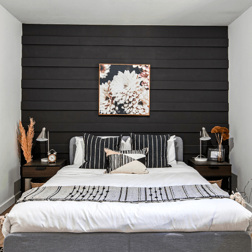 How to Make an Accent Wall With Trim