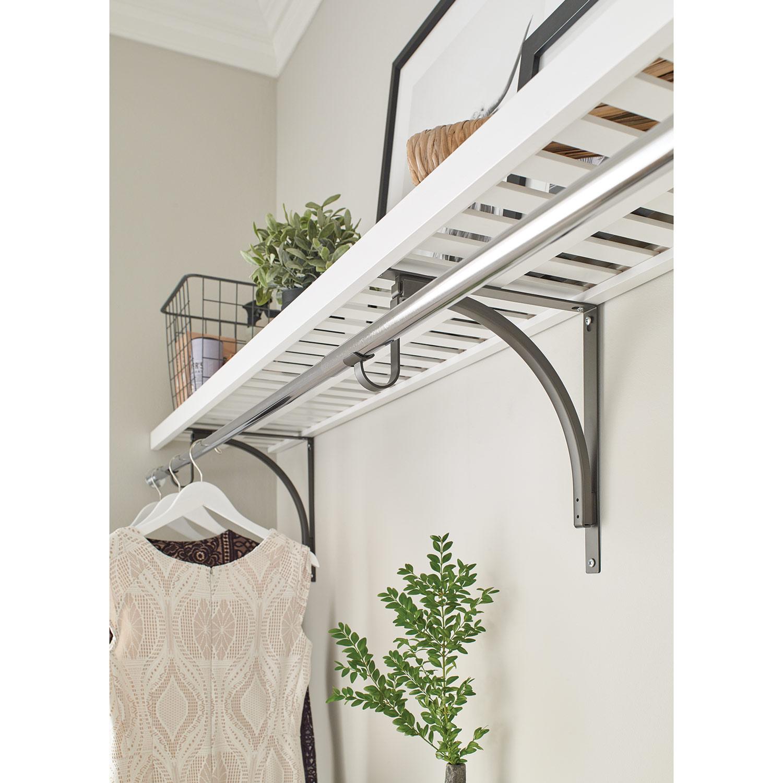 Ventilated Wood Shelf
