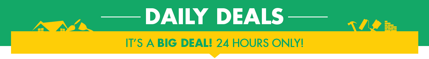Daily Deals - 24 Hours only!