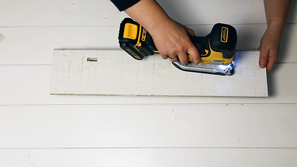 Drill a hole as large as your jig saw blade