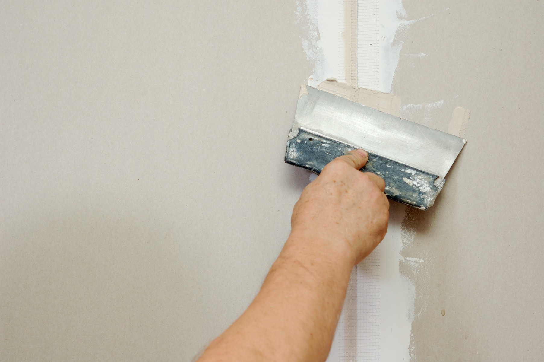 Patch repair your drywall as needed