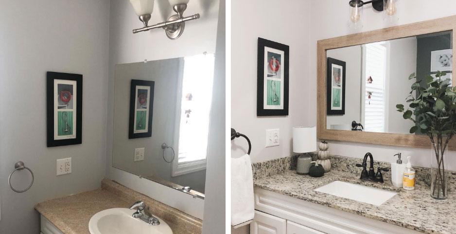 Janine Young's bathroom refresh!