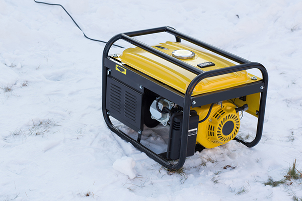Be prepared with a generator!