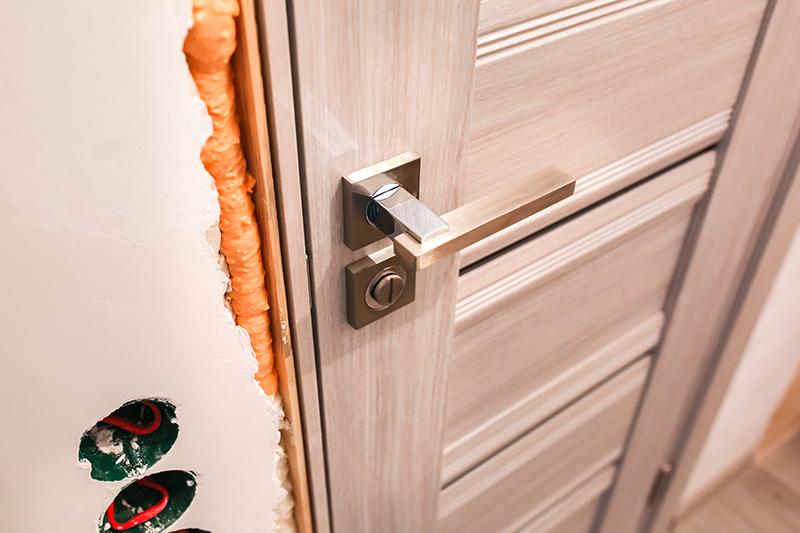 Install your new door!