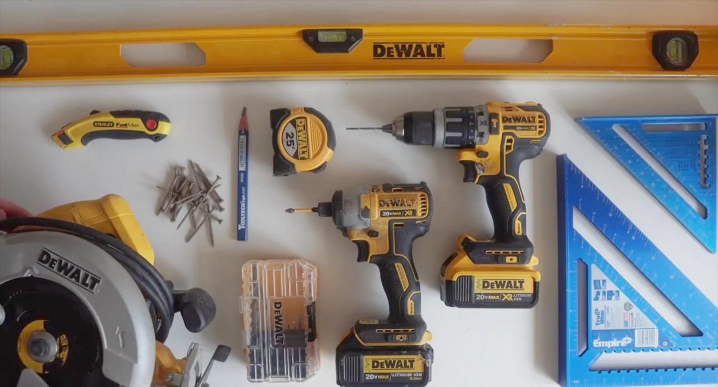 various dewalt tools