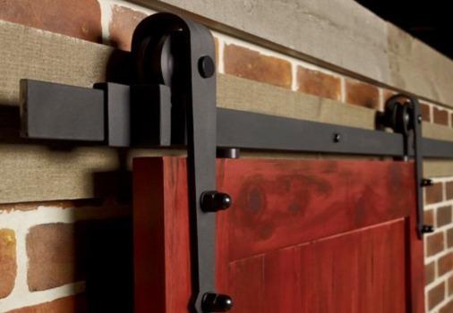 barn door top rail
