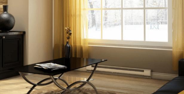 Baseboard Heater in Living Room