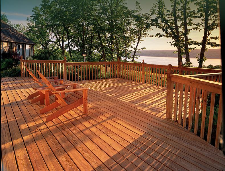Deck Stain Maintenance