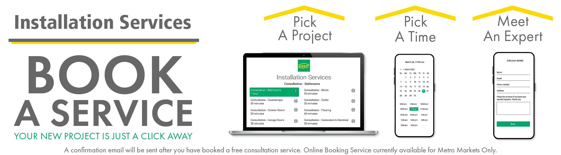 Installation Services - Book a Service