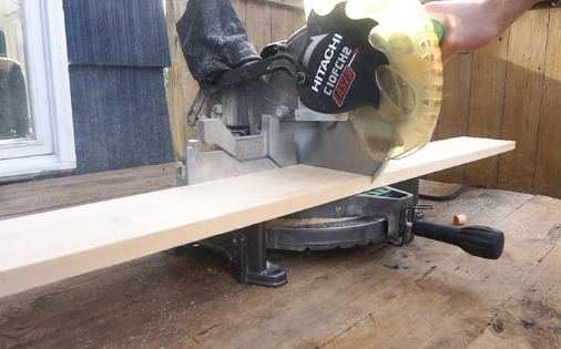 cutting board with table saw