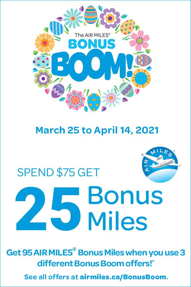 Air Miles Bonus Boom