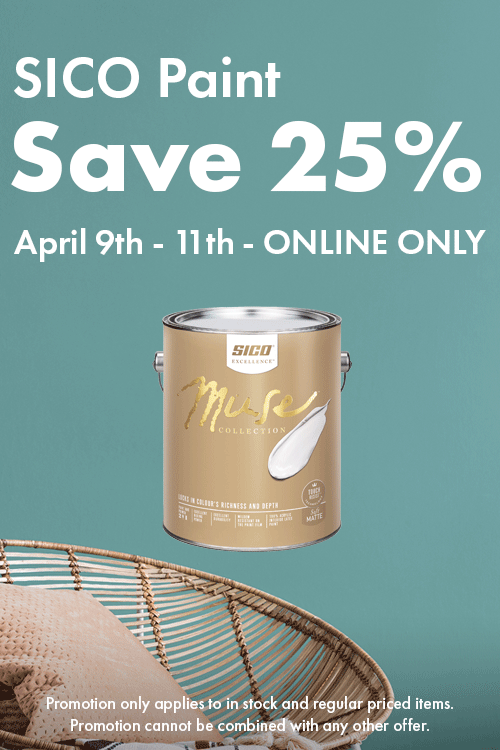 Save 25% SICO Paint