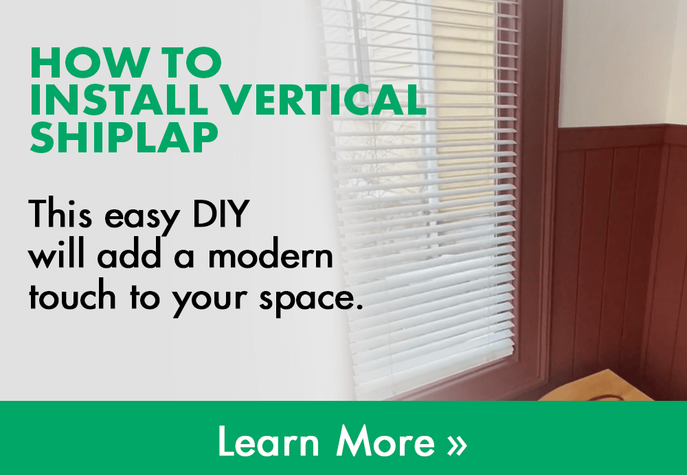 how to install vertical shiplap