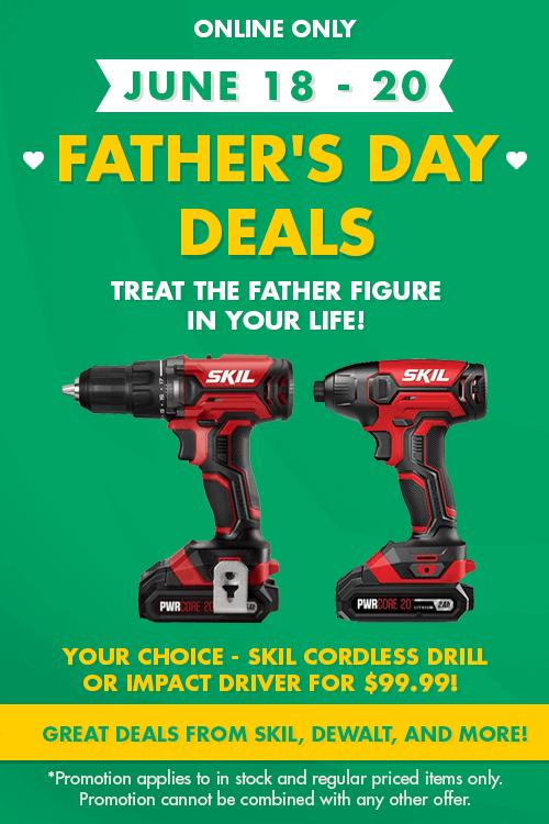 Father's day deals - explore tools