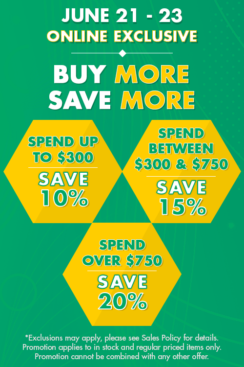 buy more save more - save 10% to 20%