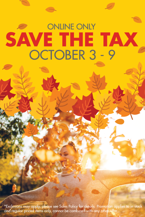 october 3 - 9 - save the tax
