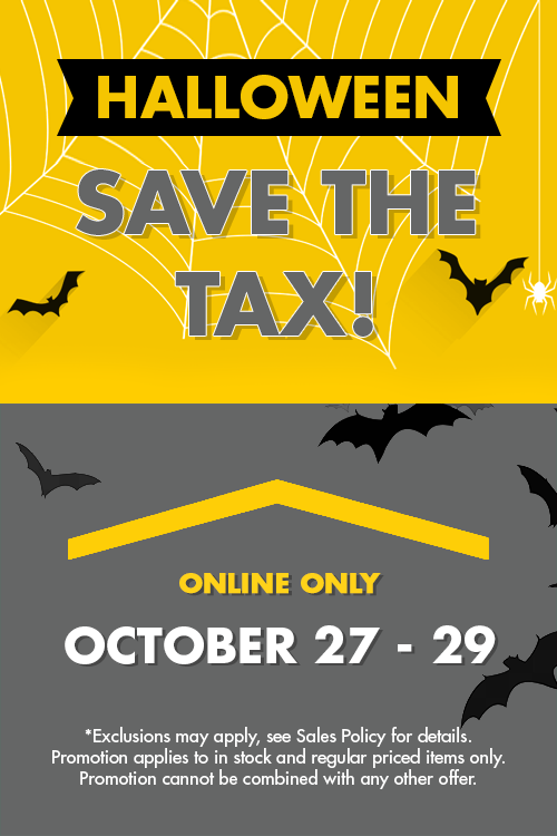 halloween - save the tax!